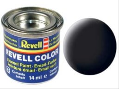 REVELL 32108 schwarz, matt RAL 9011 14 ml-Dose