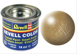 REVELL 32192 messing, metallic 14 ml-Dose