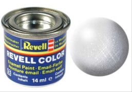 REVELL 32199 aluminium, metallic  14 ml-Dose