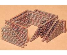 1:35 WWII Diorama-Set Mauersteine (22)