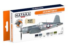 HATAKA Orange Line Set(6 pcs) Late US Navy paint set