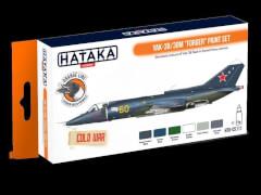 HATAKA Orange Line Set (6 pcs) Yak-38/38M ''Forger'' paint set