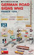 MiniArt German Road Signs WW2 (France 1944)