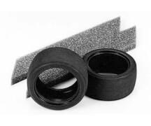 1:10 Reifen (2) Slick 30mm breit (Bauk.)