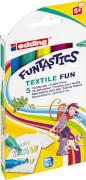 edding Funtastics Textil Fun Marker 5er Set