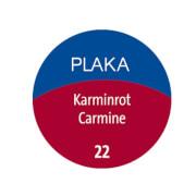 Plaka-Farbe 22 karminrot 50ml