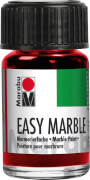 Marabu 15ml Kirschrot Easy marble