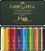 Faber-Castell KUENSTL.FARBST.36ER MET.ETUI