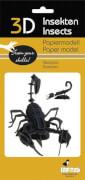 fridolin - 3D Papiermodell - Skorpion, Spezialkarton, gelasert