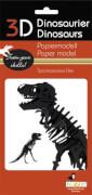 fridolin - 3D Papiermodell - Tyrannosaurus Rex, Spezialkarton, gelasert