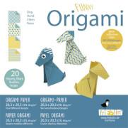 fridolin - Funny Origami Hunde, 20 Blätter, 20cm x 20cm