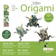 fridolin - Funny Origami Frösche, 20 Blätter, 20cm x 20cm
