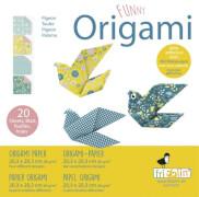 fridolin - Funny Origami Tauben, 20 Blätter, 20cm x 20cm