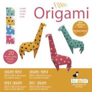 fridolin - Funny Origami Giraffen, 20 Blätter, 20cm x 20cm