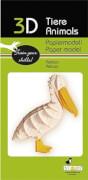 fridolin - 3D Papiermodell - Pelikan, Spezialkarton, gelasert