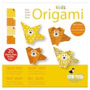 fridolin - Kids Origami Hund, 20 Blätter, 15cm x 15cm