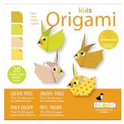 fridolin - Kids Origami Hase, 20 Blätter, 15cm x 15cm