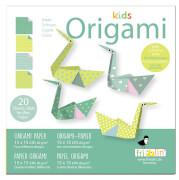 fridolin - Kids Origami Schwan 1, 20 Blätter, 15cm x 15cm