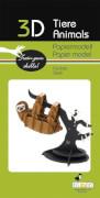 fridolin - 3D Papiermodell - Faultier, Spezialkarton, gelasert