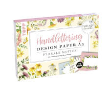 TOPP Handlettering Design PaperA5 Florale Motive