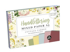 TOPP Handlettering Mixed Paper A5 Cottage-Farben