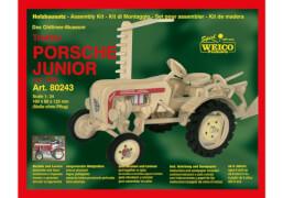 Weico Holzbausatz Traktor Porsche Junior, ca. 24,2x19,2x1,5 cm, ab 6 Jahren