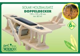 Weico Holzbausatz Solarantrieb Doppeldecker