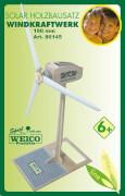 Weico Holzbausatz Solarantrieb Windkraftwerk