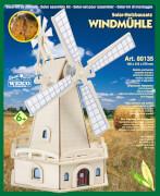 Weico Holzbausatz Solarantrieb Windmühle Friesland
