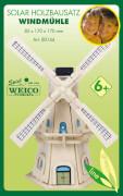 Weico Holzbausatz Solarantrieb Windmühle