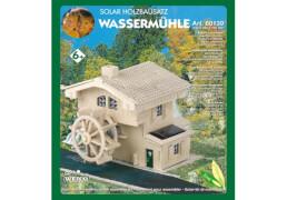 Weico Holzbausatz Solarantrieb Wassermühle Flusskraft