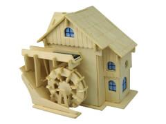 Weico Holzbausatz Solarantrieb Wassermühle