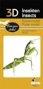 fridolin - 3D Papiermodell - Gottesanbeterin, Spezialkarton, gelasert