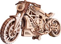 Wood Trick: Motorcycle (Motorrad)