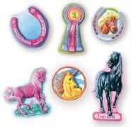 Pferde giessen und anmalen
