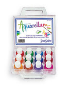 Sentosphere - Aquarellum Koffer mit 12 Farben