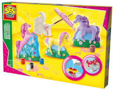 Gipsfiguren Pferde