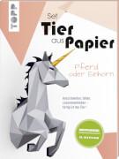 Tier aus Papier Pferd/Einh.