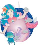 Laternen-Bastelset Meerjungfrau
