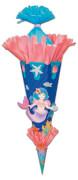 Schultüten-Bastelset Meerjungfrau