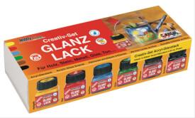 Kreul Hobby Line Glanzlack-Set 6x20ml
