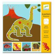 Schablonen: Dinosaurier