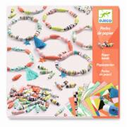 Papierkunst: Frühlings Armbänder