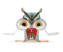 Papierspielzeug: Süße Waldtiere