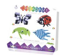 Creagami - Baukasten 4 Figuren - 555 Teile