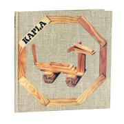 KAPLA® Bücher - Buch 4 Einfache und lustige Tiere Beige - LIVR4