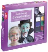 TOPP Kreativ-Set Kunterbuntes Kinderschminken - Schritt für Schritt