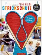 100% selbst gemacht - Meine kleine Strickschule: mit Bambus-Stricknadel, gebundenes Buch, 32 Seiten, ab 8 Jahren