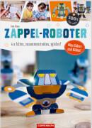 Coppenrath Verlag 62571 100 % selbst gemacht - Taschenbuch ''Zappel-Roboter - 6 x falten, zusammenstecken, spielen!'', 28 Seiten,