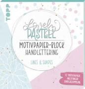 Pastell Motivpap.Block Lines